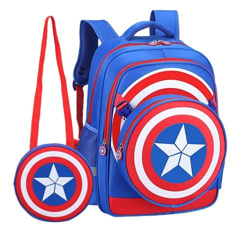 Captain Japan Back Pack captain america shield backpack pri end 12 27 2017 9 15 pm