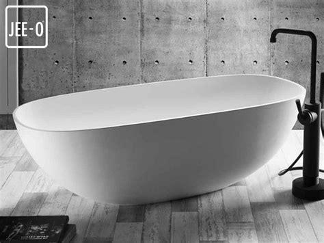 design badewanne quartz freistehende badewanne mineralguss badewanne