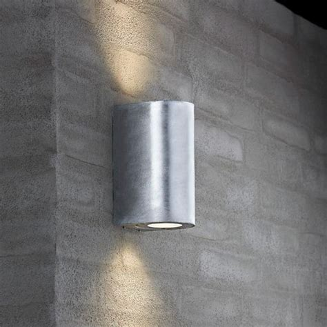 Nordlux Canto Maxi Outdoor Wall Light   Galvanised