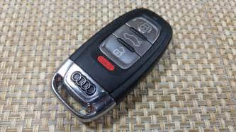 how to change smartkey key fob battery on audi a5 a3 a4 s4
