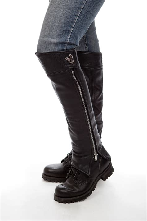 Motorcycle Half Chaps How Do I Get The Correct Fit