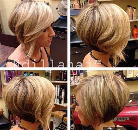 Eye Catching Bob Haircuts for Round Faces   Short