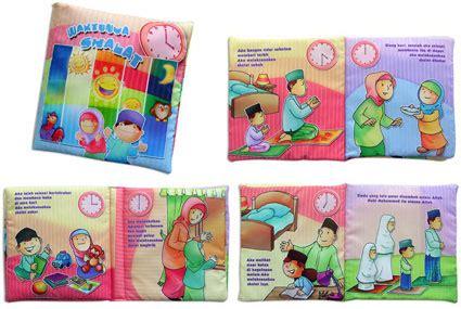 Mainan Buku Kain Anak Buku Bantal Islami Assalamualaikum Buka Bantal Edukasi Rp 50 000 Enkaceepee