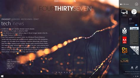 Rainmeter Themes For Windows 8 1 | rainmeter on windows 8 1 by luminarydragon on deviantart