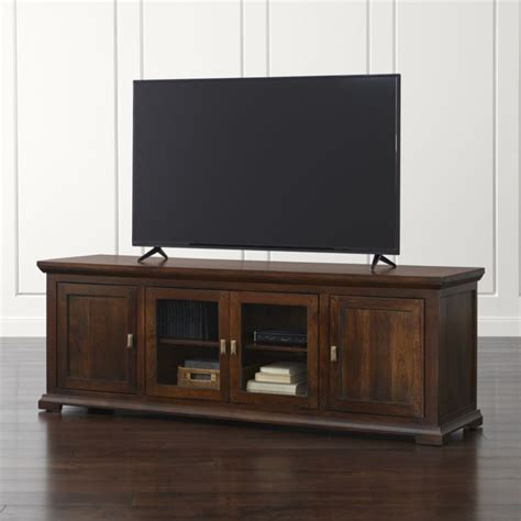 Bedroom Furniture Stores crowne 72 quot media console crate and barrel