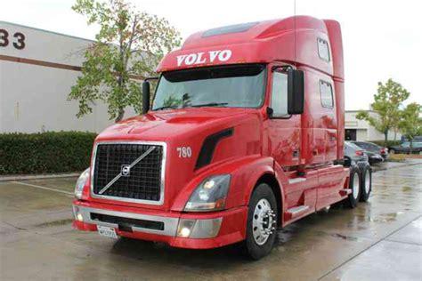 automatic volvo semi truck volvo 780 2007 sleeper semi trucks