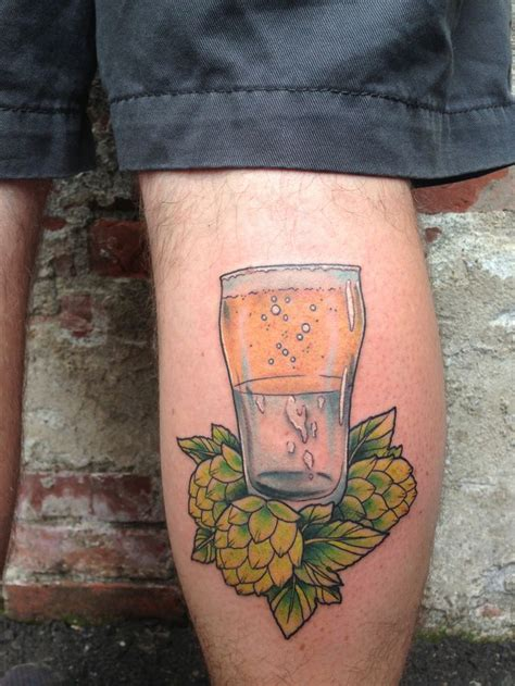 beer tattoo 25 best craft tattoos images by green flash brewing