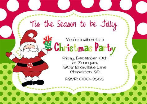 sample of invitation letter for christmas party business template s