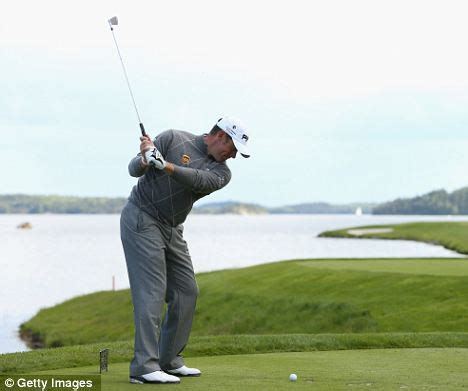 lee westwood golf swing lee westwood three shots clear at nordea masters daily