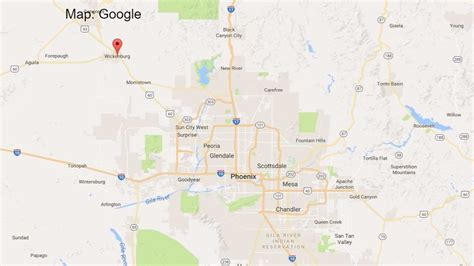 us 93 arizona map 12news 4 killed in major wreck of wickenburg
