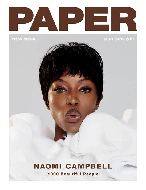 How To Make A Paper Magazine - cbell covers paper magazine s september issue