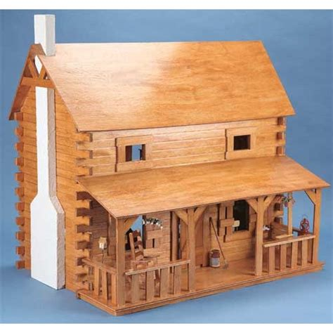 Dollhouse Kits By Corona Concepts The Creekside Cabin Dollhouse Kit Wooden Dol