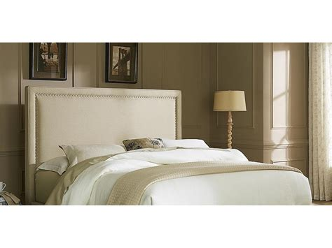 upholstered headboard nailhead liberty furniture king upholstered headboard with nailhead