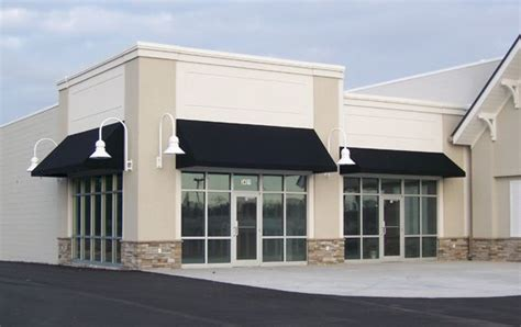 awning business simple black fabric awning classic storefront design