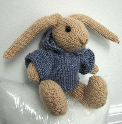 rabbit knitting knitted rabbit attempt my house rabbit
