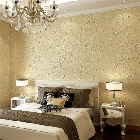 modèle de chambre à coucher papier peint tendance 50 id 233 es pour une maison moderne