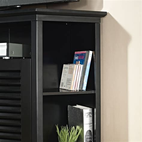 corner tv cabinet 55 inch walker edison wood highboy 55 inch corner tv cabinet gloss