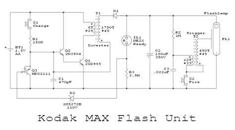 function of capacitor in flash notes on the troubleshooting and repair of electronic flash units and strobe lights and design