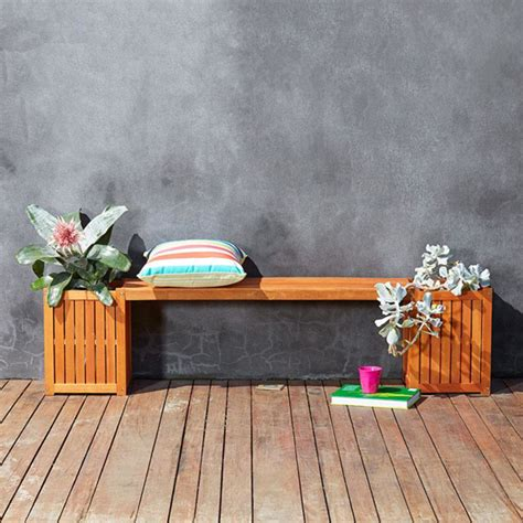 kmart garden bench transform your home with kmart s new outdoor collection