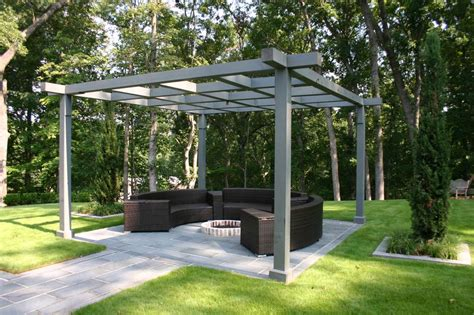 swing gazebo pit pit design ideas