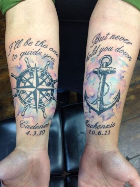 compass navy tattoo 1000 ideas about navy anchor tattoos on pinterest navy