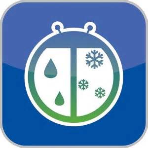 weatherbug time temp widget android apps on play
