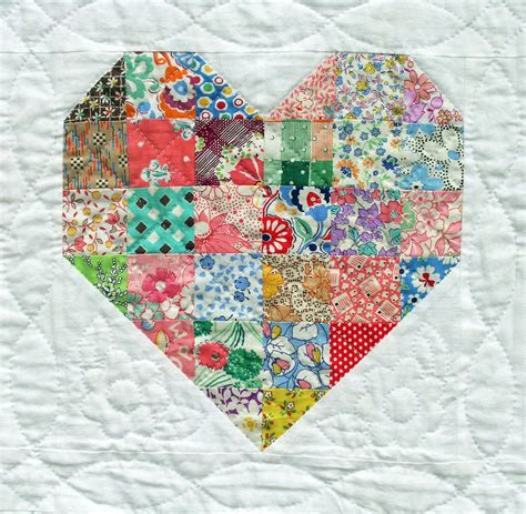 Patchwork Hearts - emily s quilt q is for quilter