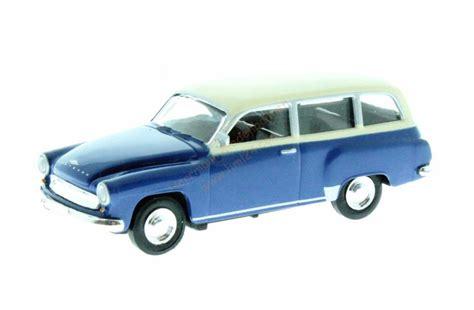 Autos Wartburg 311 Ersatzteile by Ho Wartburg 311 Kombi Blau Brekina 27185