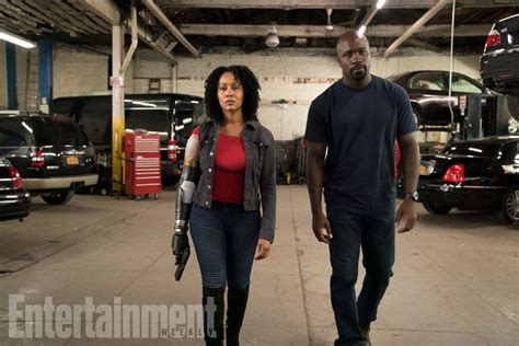 look gets bionic arm in luke cage