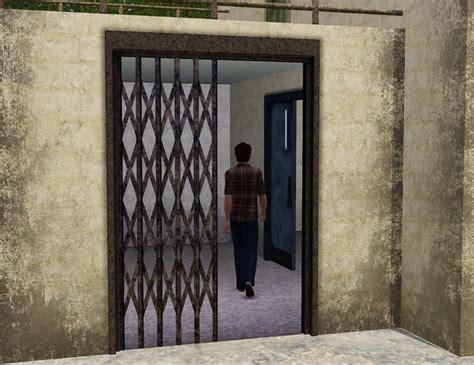 Sliding Metal Doors by Cyclonesue S Metal Lattice Sliding Door