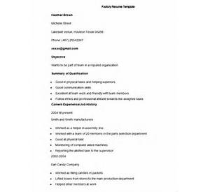 30 factory worker resume samples jobhero - Factory Resume Examples