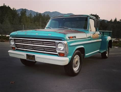 daily turismo pioneer longbed daily turismo patina pizza 1968 ford f 100