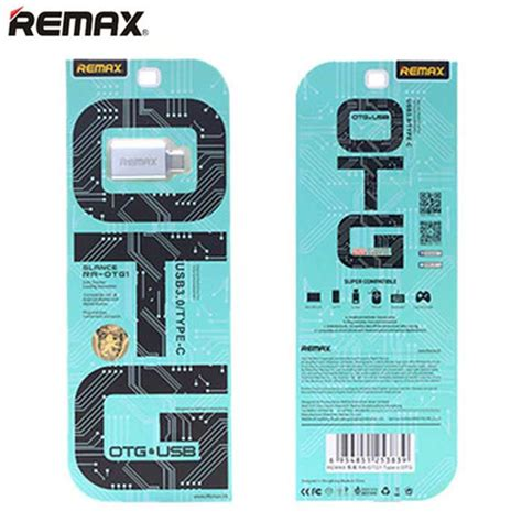 Remax Otg Type C To Usb remax re otg1 type c to usb otg adapter for android mac os silver free shipping dealextreme