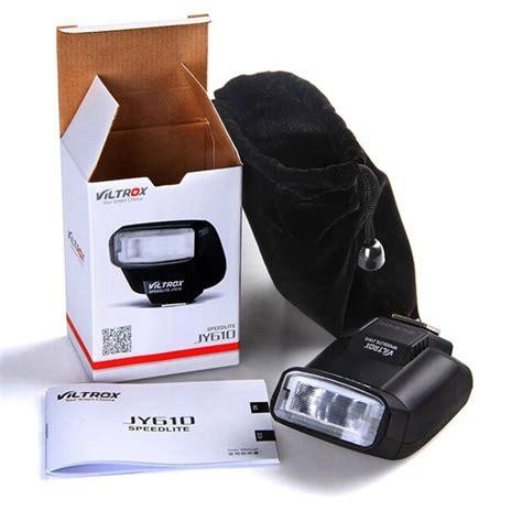Flash Pouch Viltrox Jy 08 viltrox jy 610 sulla fotocamera mini flash speedlite canon