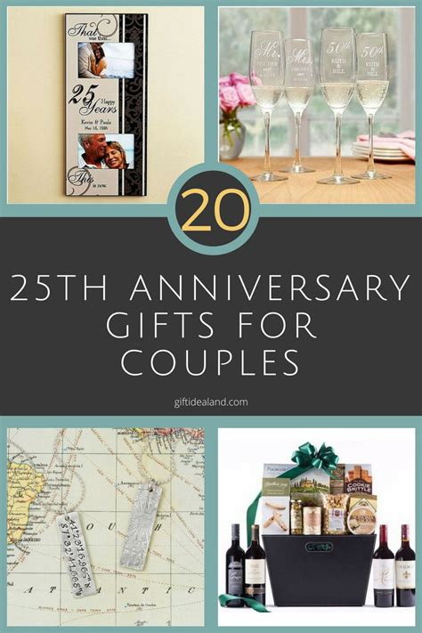 20 Greatest Gifts For by 27 25th Wedding Anniversary Gift Ideas For Him