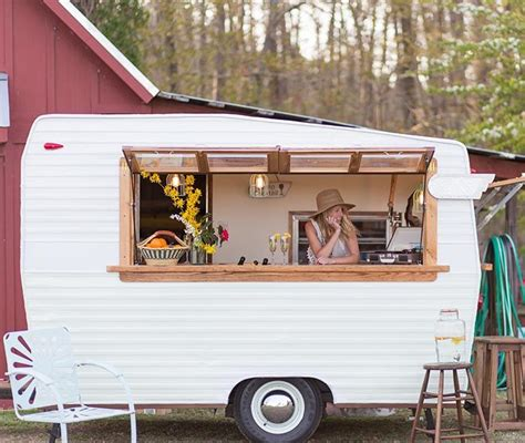 Camper Trailer Kitchen Ideas by A Mobile Bar On Wheels Airstream Bar Perfect For
