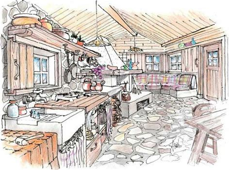 Rustiche Di Montagna by Cucina Rustica Idea Di Progetto