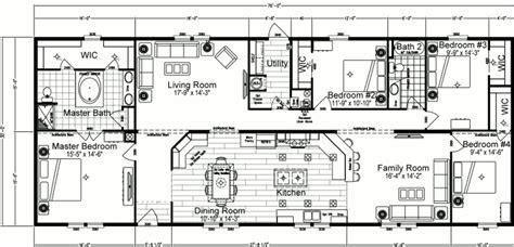 4 bedroom double wide 4 bedroom mobile home plans bedroom double wide mobile