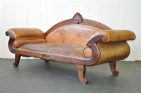 Early 20th Century European Leather Sofa For Sale At 1stdibs European Leather Sofa