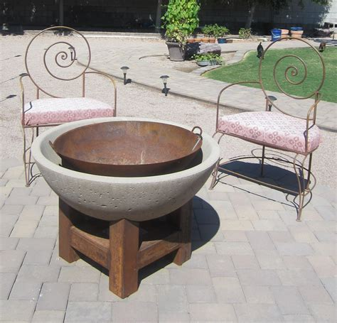 diy firepit table bowl pit pit design ideas