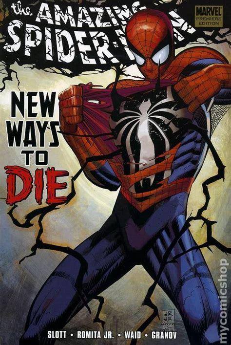spider man blue hc amazing amazing spider man new ways to die hc 2009 marvel comic books
