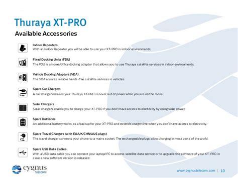 thuraya xt pro new satellite phone presentation