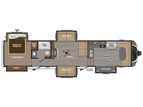 montana fifth wheel floor plans 1000 ideas about 5th wheel toy hauler on pinterest