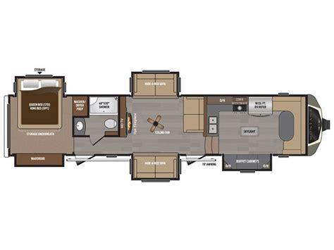 montana 5th wheel floor plans 1000 ideas about 5th wheel toy hauler on pinterest