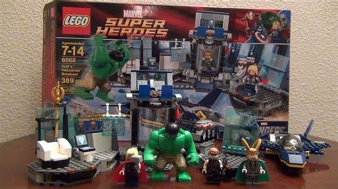 Murah Lego Superheroes 6868 S Helicarrier Breakout lego s helicarrier breakout 6868 lego marvel heroes review