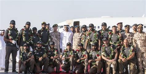 fuerzas armadas 2016 un equipo de las fuerzas armadas de los eau conquista el