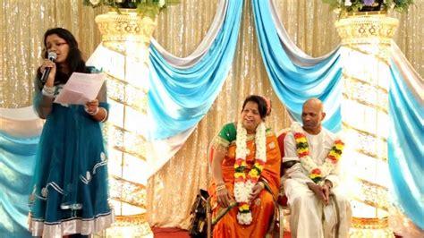 Wedding Anniversary Celebration Ideas India by Mr Mrs Baskaralingam 60th Birthday And Wedding