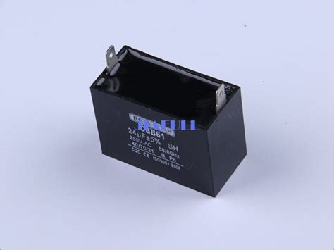 capacitor cbb61 250vac 50 60hz 24uf 250vac 50hz or 60hz cbb61 capacitor for electric appliance in generator parts accessories