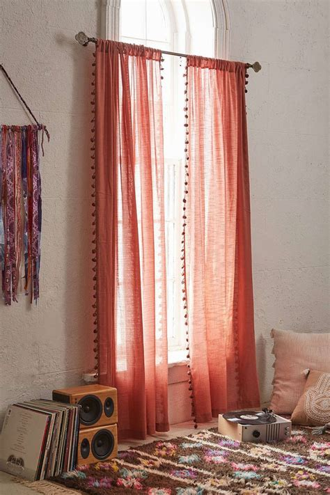 magical thinking curtains pompom curtain magical thinking urban outfitters and urban