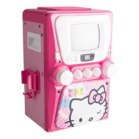 Hello Cd Karaoke System by Hello 68109 Cd Karaoke System With Screen Pink
